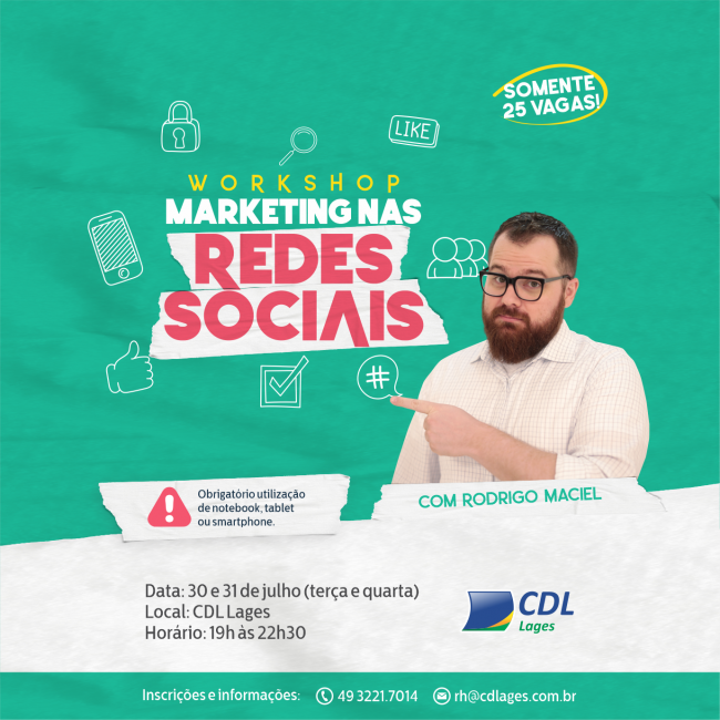 Workshop Marketing nas Redes Sociais